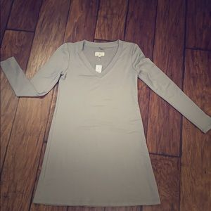 Lou and grey long sleeved t shirt dress